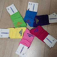 Носки женские тонкие Adidas sport(цветные) р. 36-40 5шт