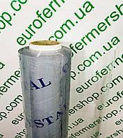 Пленка пвх силикон 600 мкм (0,6 мм), 1,4х18,6 м.Гибкое стекло.