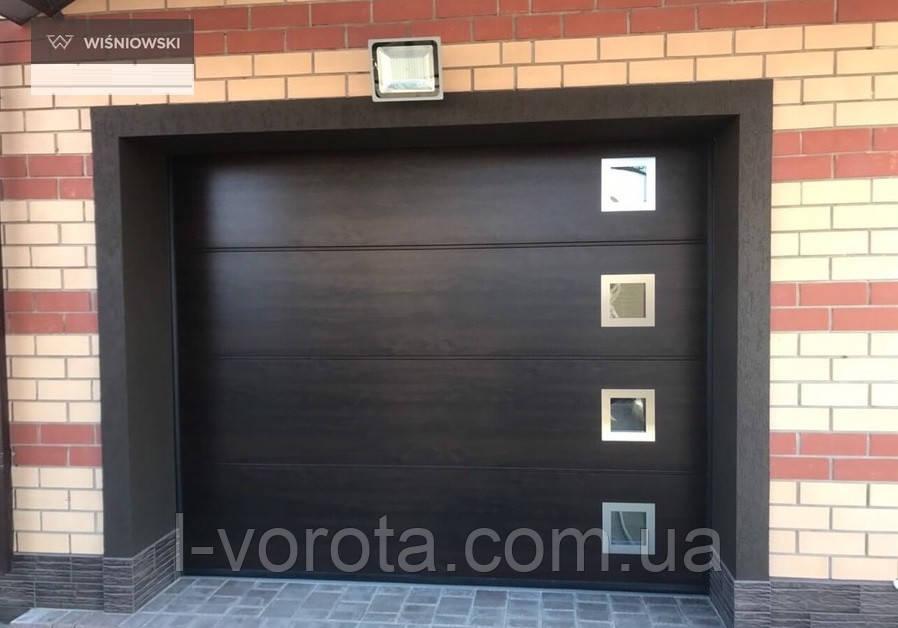 Секционные гаражные ворота WISNIOWSKI UNITHERM ш3000, в2500