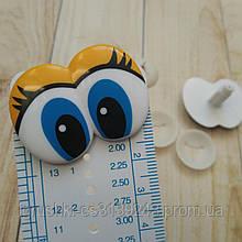 Глазки для игрушек мультяшные 30*40 мм