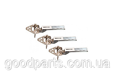 Петли двери с прокладками (3шт) для холодильника Bosch 268699