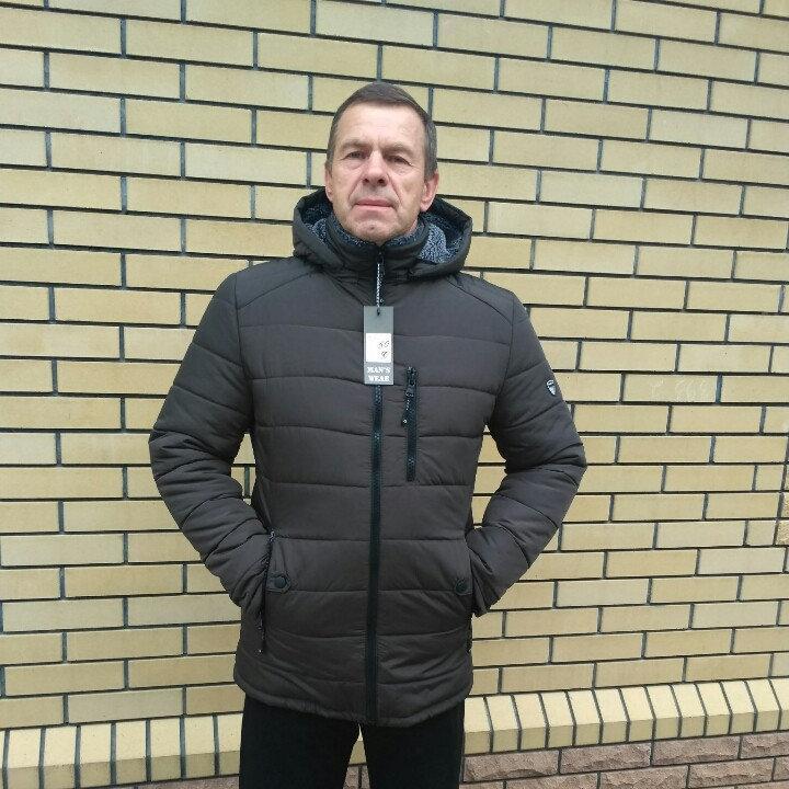 Мужская зимняя куртка, размеры 50 - 62