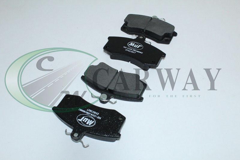 Колодки передні гальмівні ВАЗ 2110-12 (ел. датч.) МГ-2110-350180082 Мить