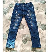 Теплі джинси для дівчаток на махре., фото 1