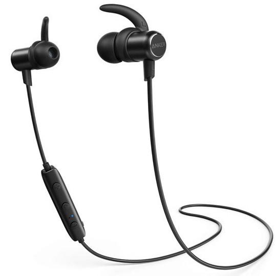 Наушники Bluetooth Anker SoundBuds Slim (Black)
