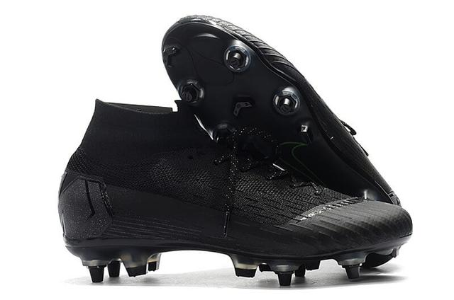 Футбольные бутсы Nike Mercurial Superfly VI Elite SG AC Black