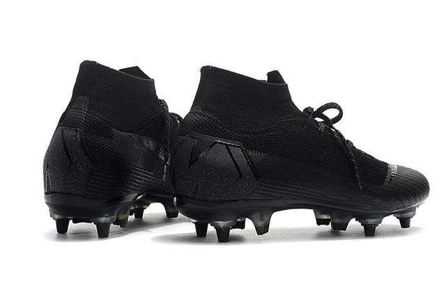 Футбольные бутсы Nike Mercurial Superfly VI Elite SG AC Black  фото