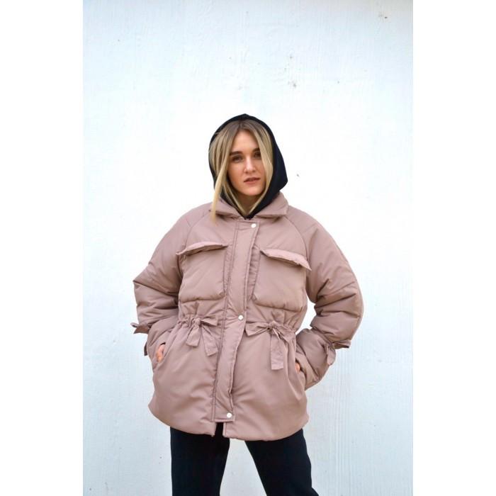 Куртка модная женская объемная Зима 540, фото 1
