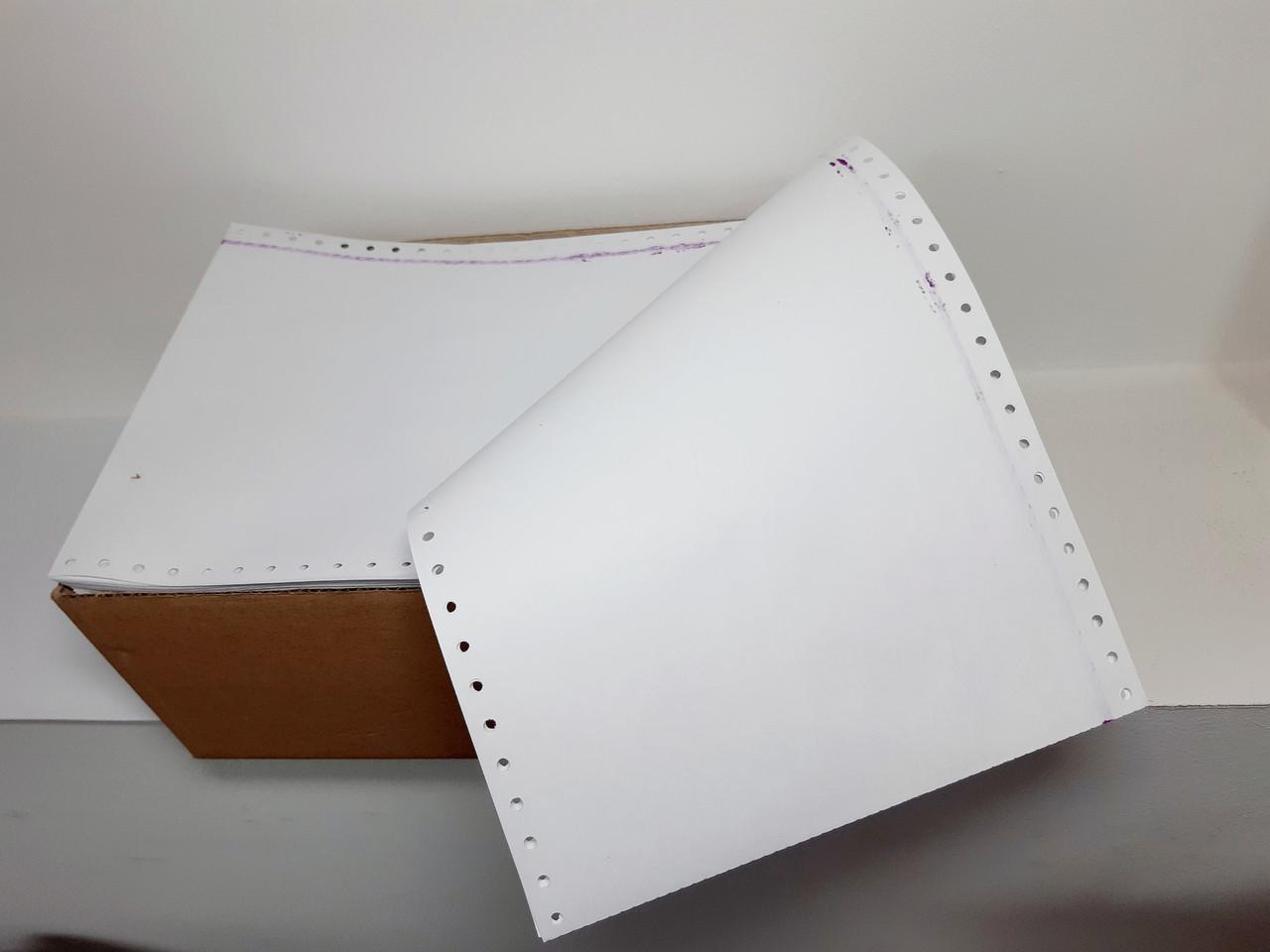 Бумага перфорированная фальцованная СПФ 210 SL 55г/м2