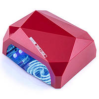 УФ LED+CCFL лампа (таймер 10, 20, 30сек) 36 Вт, фото 1