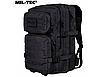 Рюкзак тактический  ASSAULT ( L -36 )  черный MiL-Tec    ГЕРМАНИЯ, фото 8