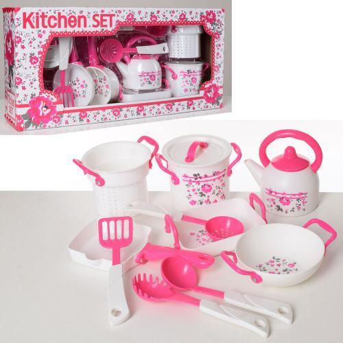 Посуда с кухонными принадлежностями LN593A-B детский игровой набор