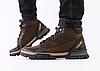 Ботинки Colambia мужские зимние коричневые из натуральной кожи