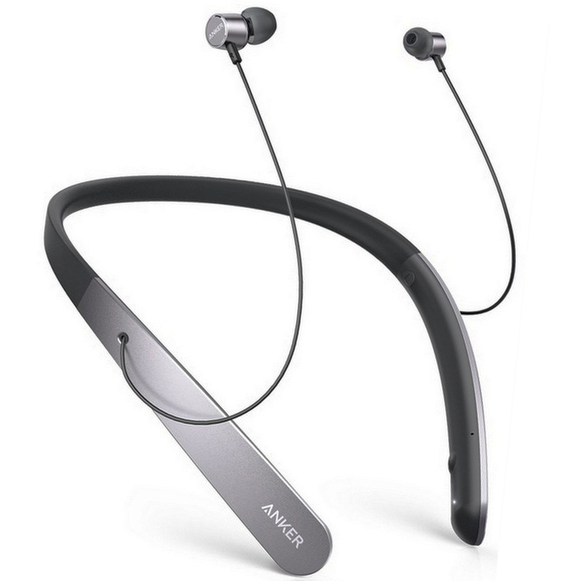 Наушники Bluetooth Anker SoundBuds Life (Black/Grey)