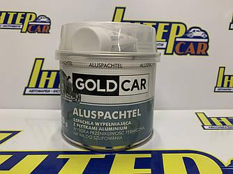 Шпатлевка GOLD CAR ALU с частицами алюминия 0,75кг