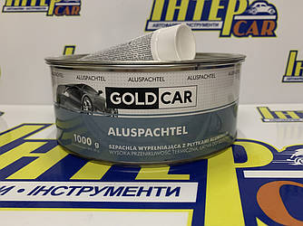 Шпатлевка GOLD CAR ALU с частицами алюминия 1,0кг
