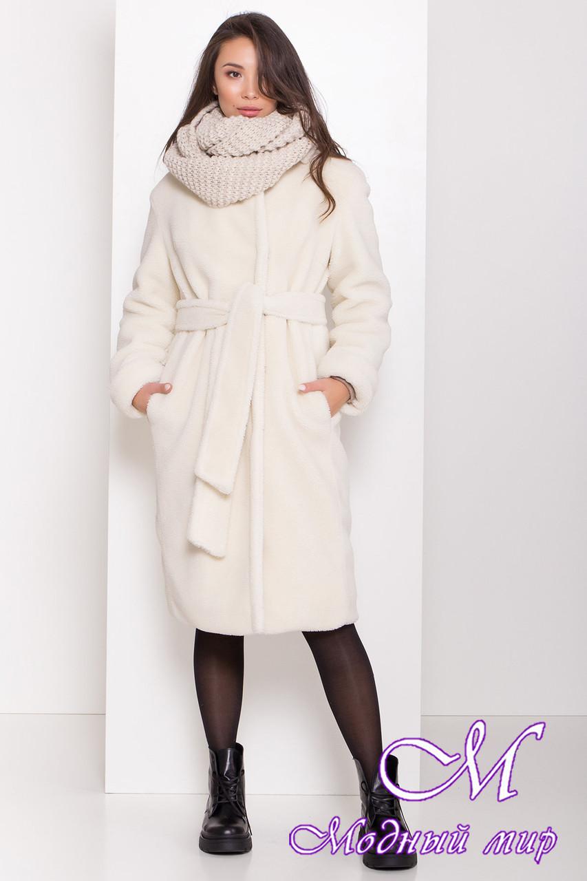 Женское меховое пальто зима (р. S, M, L) арт. П-81-98/44202