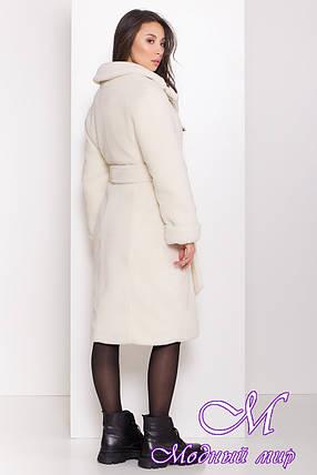 Женское меховое пальто зима (р. S, M, L) арт. П-81-98/44202, фото 2