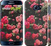 """Чехол на Samsung Galaxy S6 G920 Куст с розами """"2729c-80"""""""