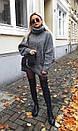 Модный объемный свитер оверсайз oversize, фото 7