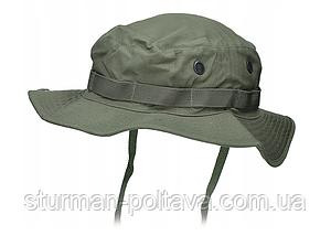 Панама чоловіча армійська колір олива бавовна 100% MFH Німеччина -XL