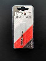 Сверло-метчик YATO d 4 мм