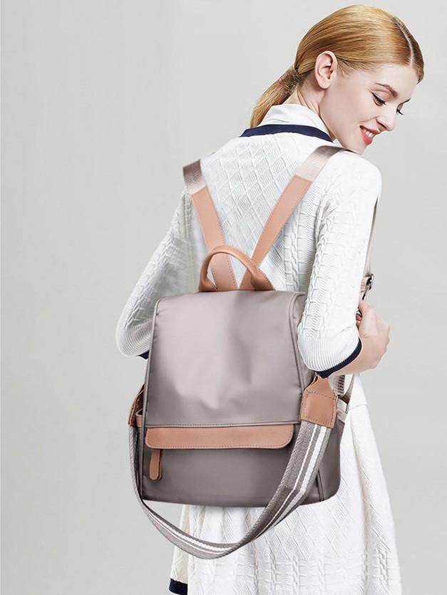 Молодежный повседневный водоотталкивающий рюкзак-сумка через плечо антивор