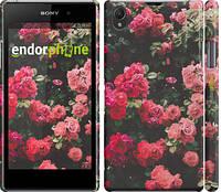 "Чехол на Sony Xperia Z1 C6902 Куст с розами ""2729c-38"""