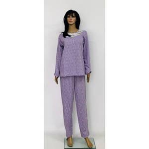 Байковая пижама большого размера с кружевом разные цвета 52-60 р
