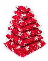 Набор новогодних подушек из 7 шт Колокольчики
