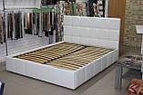 Кровать Лион в мягкой обивке, фото 4