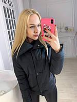 Женская стильная куртка утеплитель силикон 150