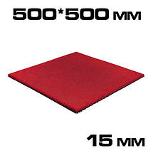 Гумова плитка 15 мм