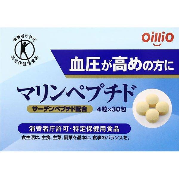 Морський пептид Oillio з білка сардини 120 таблеток на 30 днів