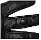 Рукавички чоловічі армійські стрілецькі з захистом TACTICAL GLOVES LEDER шкіряні чорні Mil-tec Німеччина, фото 6