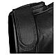 Рукавички чоловічі армійські стрілецькі з захистом TACTICAL GLOVES LEDER шкіряні чорні Mil-tec Німеччина, фото 10