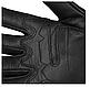 Рукавички чоловічі армійські стрілецькі з захистом TACTICAL GLOVES LEDER шкіряні чорні Mil-tec Німеччина, фото 9