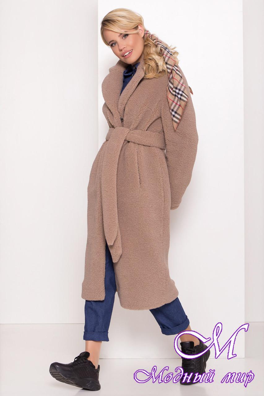 Меховое женское зимнее пальто (р. S, M, L) арт. С-78-63/43762