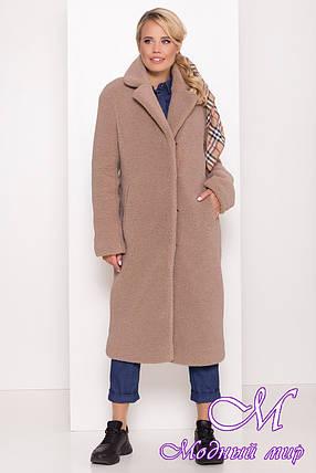 Меховое женское зимнее пальто (р. S, M, L) арт. С-78-63/43762, фото 2