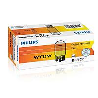 Лампа накаливания Philips WY21W, 10шт/картон 12071CP