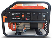 Однофазный бензиновый генератор Daewoo GDA 3300 (3 кВт)