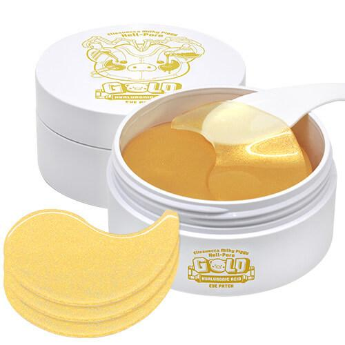 Патчи для глаз Elizavecca Milky Piggy Hell-pore Gold Hyaluronic Acid Eye Patch 60 шт (8809389032891)