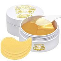 Увлажняющие патчи для глаз с золотом Elizavecca Milky Piggy Hell-pore Gold Hyaluronic Acid Eye Patch 60 шт