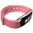 Фитнес браслет с измерением пульса и давления Smart band E18 pink, фото 3