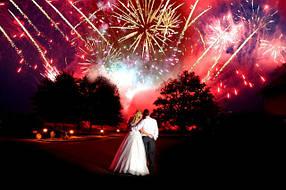 Свадебные фейерверки