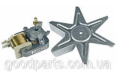 Двигатель (мотор) вентиляторной конвекции для духовки Indesit C00081589