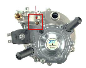 Изменение конструкции газового редуктора Tomasetto