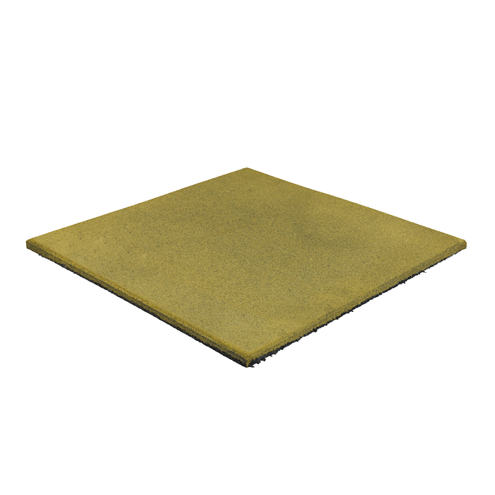 Гумова плитка 15 мм (жовта)