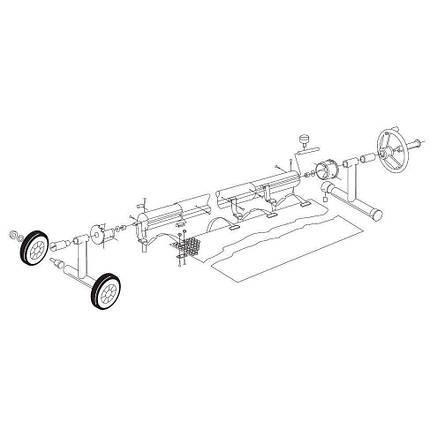 Ролета навивочная мобильная Vagner Pool 6015044 в комплекте - 4,4 м, фото 2