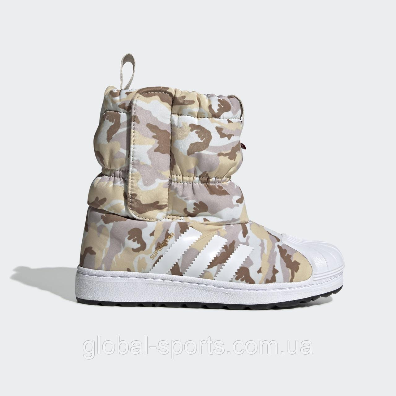 Детские зимние сапоги Adidas Originals Superstar CF C (Артикул: EE7261)